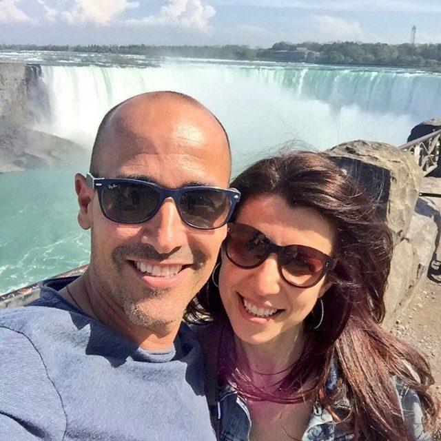 Playing Tourists with Mrs R  Niagara Falls