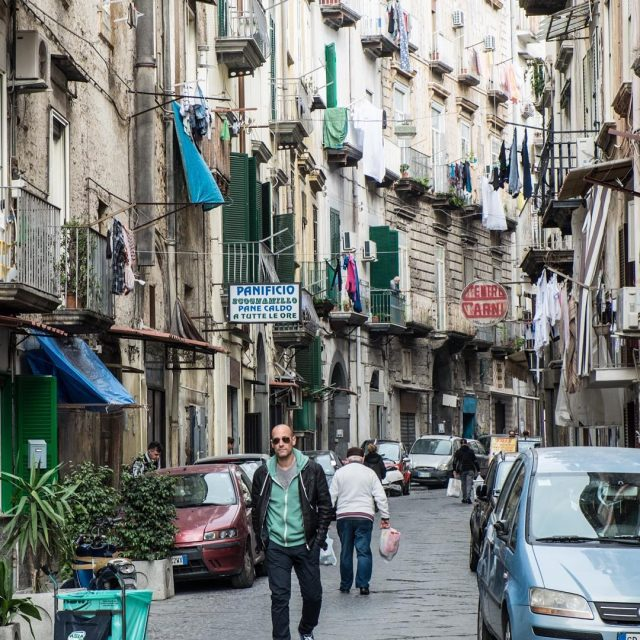 Walking the streets of Napoli Catch DolceNapoli premiering October 1sthellip