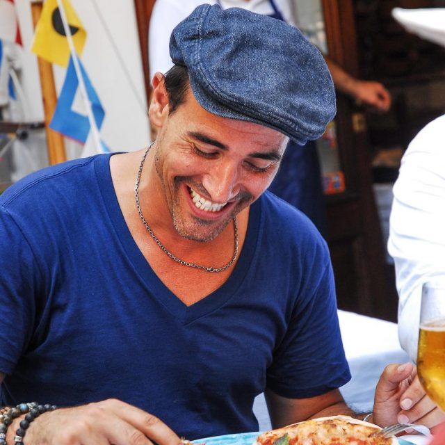 That excitement eating a pizza in Naples ThrowbackThursday Napoli