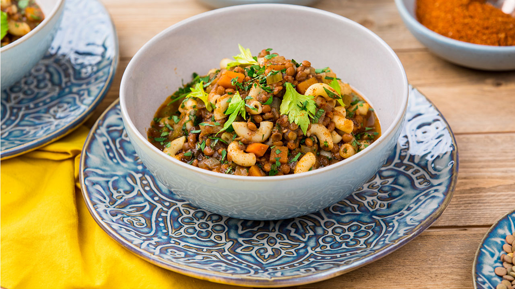 Ethiopian style lenticchie pasta david rocco this recipe uses a spice mix i picked up in ethiopia called berbere its a savoury fusion dish thats perfect comfort food and will make your kitchen smell forumfinder Image collections